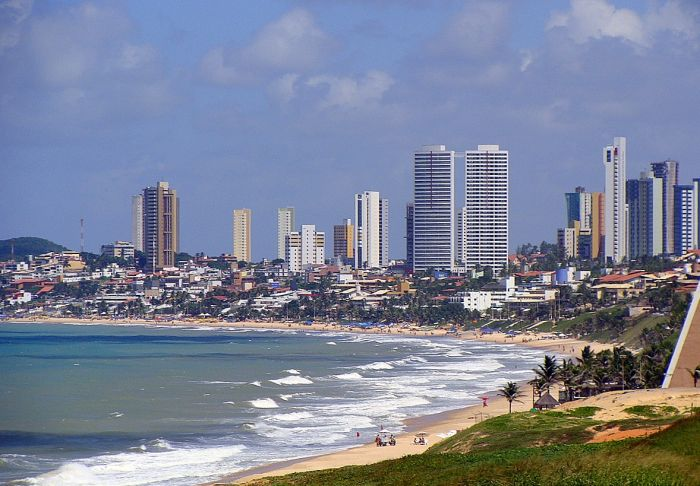 Ponta-Negra-beach-and-skyline-Natal-City-Brazil